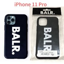 BALR Unisex Street Style Plain iPhone 8 Plus iPhone X