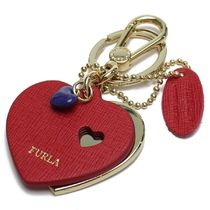 FURLA Leather Keychains & Bag Charms