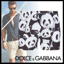 Dolce & Gabbana Street Style Other Animal Patterns Beachwear