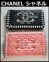 CHANEL TIMELESS CLASSICS Bi-color Plain Leather Accessories