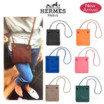 HERMES Aline Casual Style Calfskin Plain Shoulder Bags