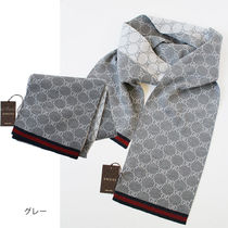 GUCCI GG Marmont Unisex Wool Scarves