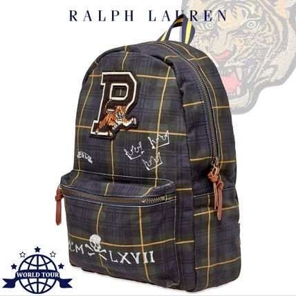 a161902a3 Ralph Lauren 2019 SS Tartan Canvas A4 2WAY Backpacks by worldtour ...
