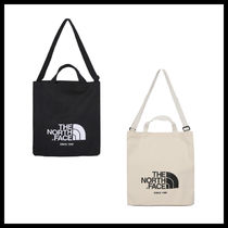 THE NORTH FACE WHITE LABEL Unisex Street Style A4 2WAY Shoppers