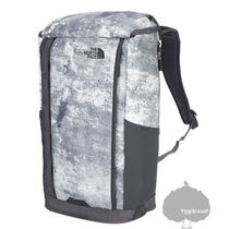 THE NORTH FACE Unisex Street Style Tie-dye A4 Plain Backpacks