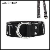 VALENTINO Casual Style Leather Belts