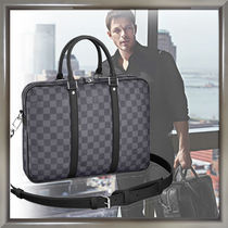Louis Vuitton DAMIER GRAPHITE Blended Fabrics A4 2WAY Business & Briefcases