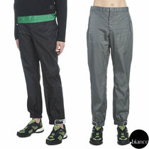 PRADA Nylon Plain Joggers & Sweatpants