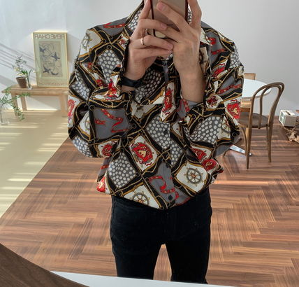 ASCLO Shirts Street Style Long Sleeves Shirts 2