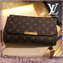 Louis Vuitton MONOGRAM Monogram 2WAY Chain Elegant Style Shoulder Bags