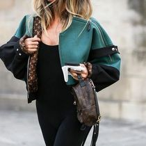 Louis Vuitton Short Casual Style Street Style Leather Jackets