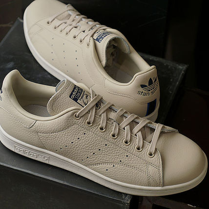 save off 77fbd c022b adidas STAN SMITH Rubber Sole Casual Style Unisex Street Style Plain