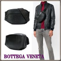 BOTTEGA VENETA Plain Leather Hip Packs