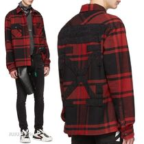 Off-White Other Check Patterns Long Sleeves Shirts