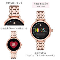 kate spade new york Round Stainless Office Style Digital Watches