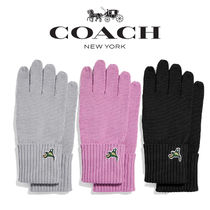 Coach Wool Smartphone Use Gloves
