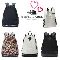 THE NORTH FACE WHITE LABEL Unisex Plain Backpacks