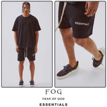 FEAR OF GOD Unisex Street Style Collaboration Plain Shorts