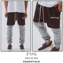 FEAR OF GOD Unisex Street Style Collaboration Shorts