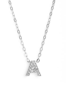 Casual Style Initial Chain Silver Necklaces & Pendants