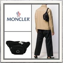 MONCLER Nylon 2WAY Plain Messenger & Shoulder Bags
