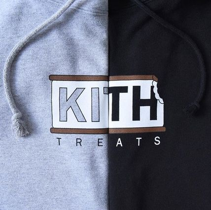 KITH NYC Hoodies Pullovers Street Style Collaboration Long Sleeves Plain 2