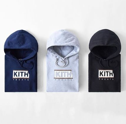 KITH NYC Hoodies Pullovers Street Style Collaboration Long Sleeves Plain 3