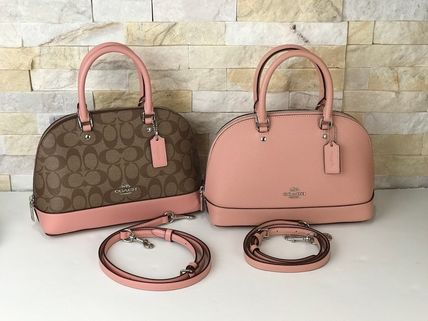 Coach 2019 Ss A4 Leather Shoulder Bags