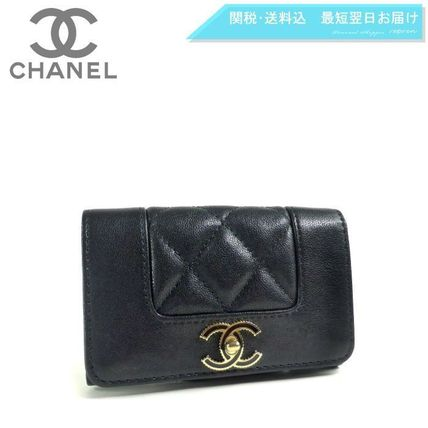38ce650412fb CHANEL MADEMOISELLE Plain Leather Card Holders by repren - BUYMA