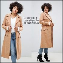 Missguided Casual Style Long Trench Coats