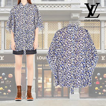 Louis Vuitton Casual Style Cropped Cotton Medium Shirts & Blouses