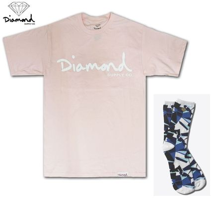 Street Style Cotton Short Sleeves Co-ord T-Shirts