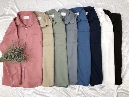 Shirts Long Sleeves Plain Cotton Shirts 6