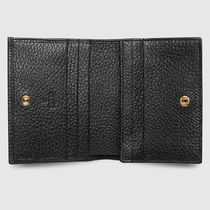 GUCCI GG Marmont Plain Small Wallet Folding Wallets