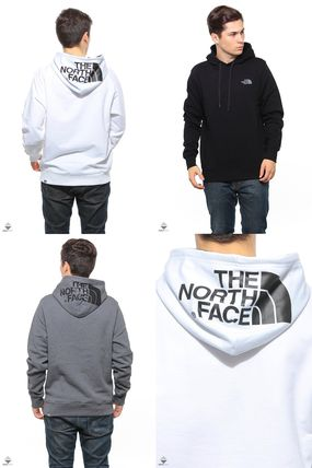 THE NORTH FACE Hoodies Pullovers Street Style Long Sleeves Plain Cotton Hoodies