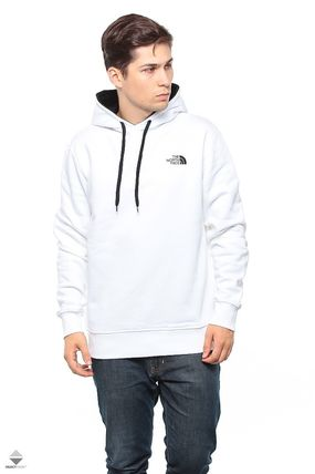 THE NORTH FACE Hoodies Pullovers Street Style Long Sleeves Plain Cotton Hoodies 5