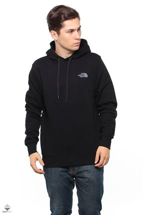 THE NORTH FACE Hoodies Pullovers Street Style Long Sleeves Plain Cotton Hoodies 6