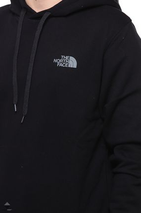 THE NORTH FACE Hoodies Pullovers Street Style Long Sleeves Plain Cotton Hoodies 7