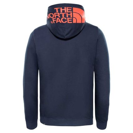 THE NORTH FACE Hoodies Pullovers Street Style Long Sleeves Plain Cotton Hoodies 12