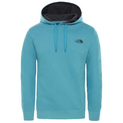 THE NORTH FACE Hoodies Pullovers Street Style Long Sleeves Plain Cotton Hoodies 13