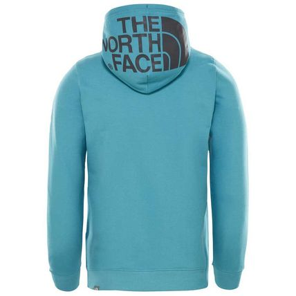 THE NORTH FACE Hoodies Pullovers Street Style Long Sleeves Plain Cotton Hoodies 14