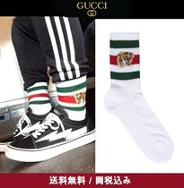 GUCCI Unisex Street Style Plain Cotton Undershirts & Socks