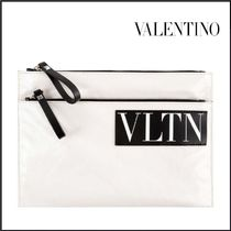 VALENTINO Leather Clutches