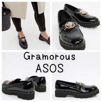 ASOS Casual Style Faux Fur Other Animal Patterns