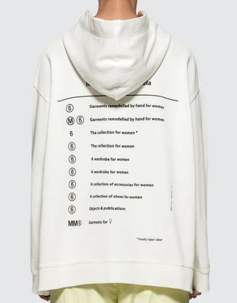 Maison Martin Margiela Hoodies Unisex Street Style Long Sleeves Cotton Hoodies 2
