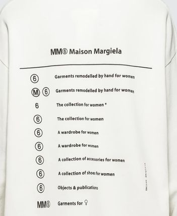 Maison Martin Margiela Hoodies Unisex Street Style Long Sleeves Cotton Hoodies 6