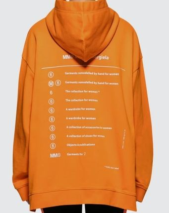 Maison Martin Margiela Hoodies Unisex Street Style Long Sleeves Cotton Hoodies 7