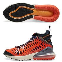 Nike AIR MAX 270 Unisex Street Style Logo Sneakers