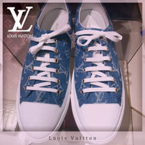 Louis Vuitton MONOGRAM Monogram Round Toe Rubber Sole Casual Style Low-Top Sneakers