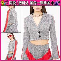 DOLLS KILL Short Other Check Patterns Casual Style Jackets